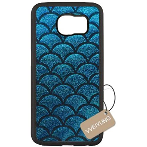 Diy Customized Cell Phone Case for Mermaid Scales Black Samsung Galaxy s7 Hard Back Cover Shell Phone Case (Fit: Samsung Galaxy s7) Sales