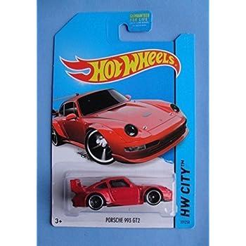 Hot Wheels 2014 HW City Porsche 993 GT2 27/250, Red