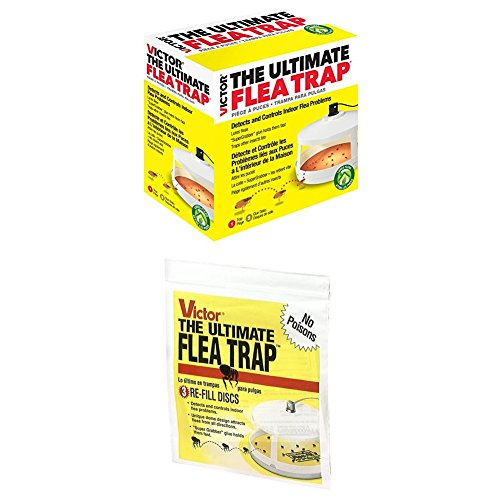 Victor M230A Ultimate Flea Trap WITH Victor M231...
