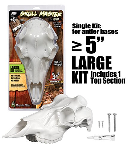 (Mountain Mike's Reproductions Skull Master, Large Antler Mounting Kit)