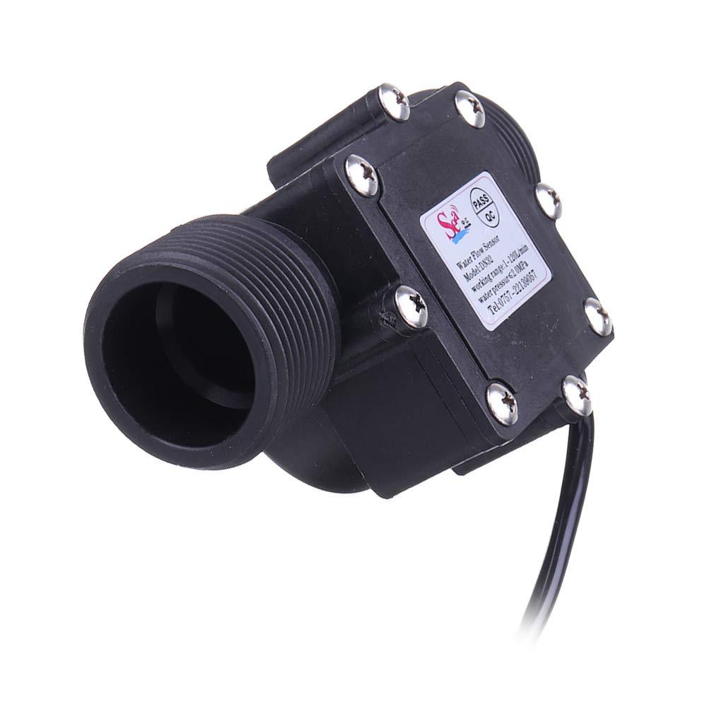 G1-1//4 1.25 sensor de flujo de agua Hall interruptor medidor contador de flujo 1-120L//min