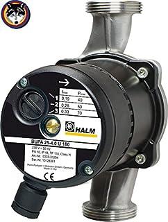 1//2 *Einbaul/änge COSMO Brauchwasserpumpe Nassl/äufer Brauchwasserpumpe *Anschluss 85 mm