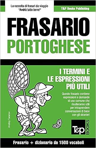 Book Frasario Italiano-Portoghese e dizionario ridotto da 1500 vocaboli