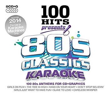 100 Hits Presents - 80s Classics Karaoke By Various Artists (2014-11-03) CD
