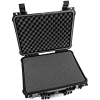 Tough and Secure Projector Hard Case by CASEMATIX - For RAGU Z720 HD Projector / Fixeover GP100 HD Projector / CiBest GP90 LCD Projector