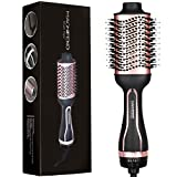 Magnifeko one step hair dryer brush and styler volumizer Hot Air Hairdryer Brush In One - Round Blow Dry Brush - One Step Electric Hair Drying