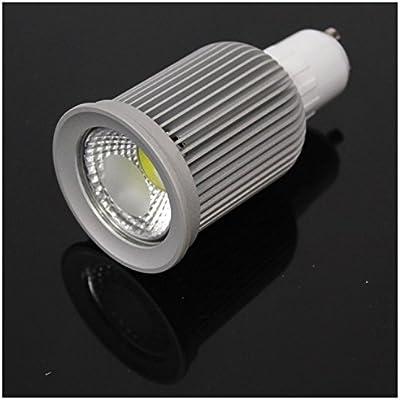 Cablematic - Bombilla LED dicroica GU10 230VAC COB 7W 60° 50mm luz día