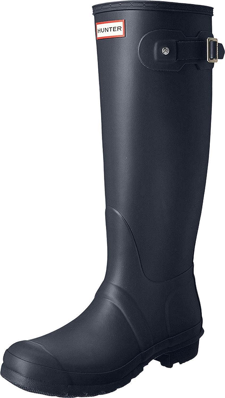 Back Adjustable Tall Rain Boot Midnight