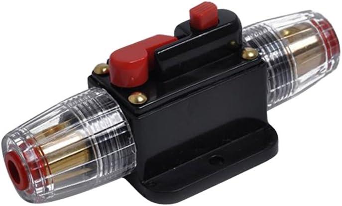 40A Homyl DC 12V-48V Car Stereo Audio Circuit Breaker Inline Fuse Fits for 4-8 Gauge Wire