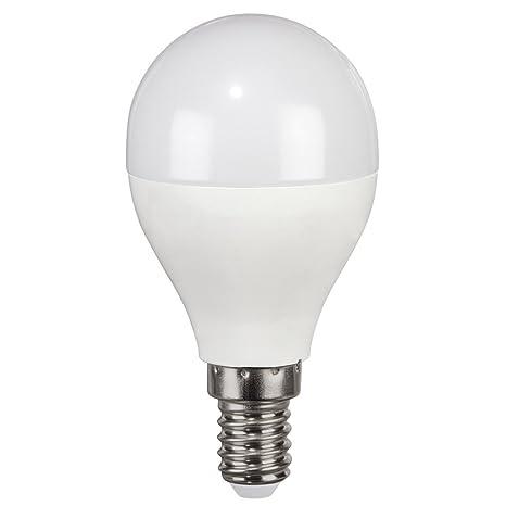 Bombilla LED, E14, 530lm rempl. Bombilla Esférica 43 W, luz del día