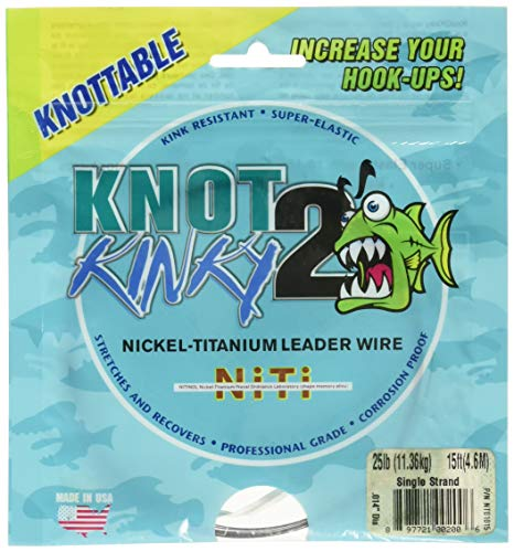 Knot2Kinky NT01015 Wire 25-Pound, 15 Feet