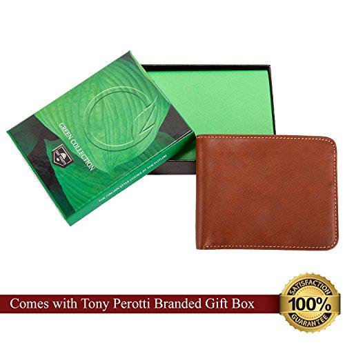 Cognac Prima Tony Fold Bi Leather Italian Perotti Perotti Tony Leather Italian Wallet q0aTPE