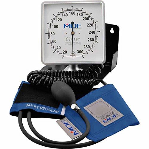 Amazon.com: MDF Desk & Wall Aneroid Sphygmomanometer - Blood Pressure Monitor - Bright Blue (MDF840-14): Health & Personal Care