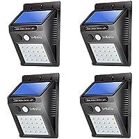 LED Luz solar sensor de movimiento, Lithium ion, 0.50 watts, 3.70 volts