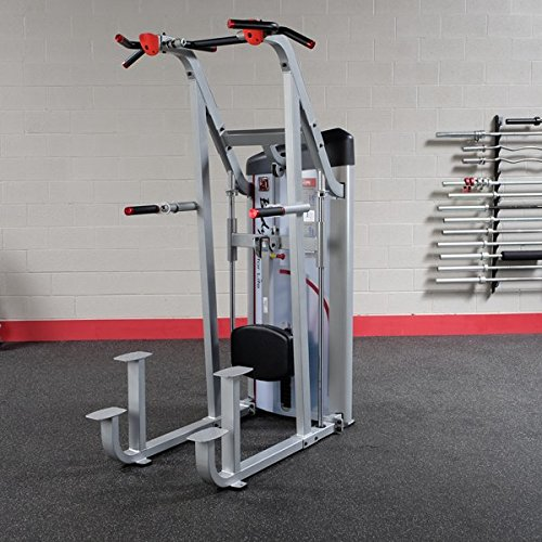 Assisted Chin Dip Machine with 235 lbs. Weight Stack by Body-Solid