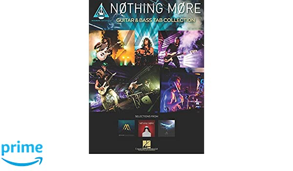 Amazon com: Nothing More - Guitar & Bass Tab Collection