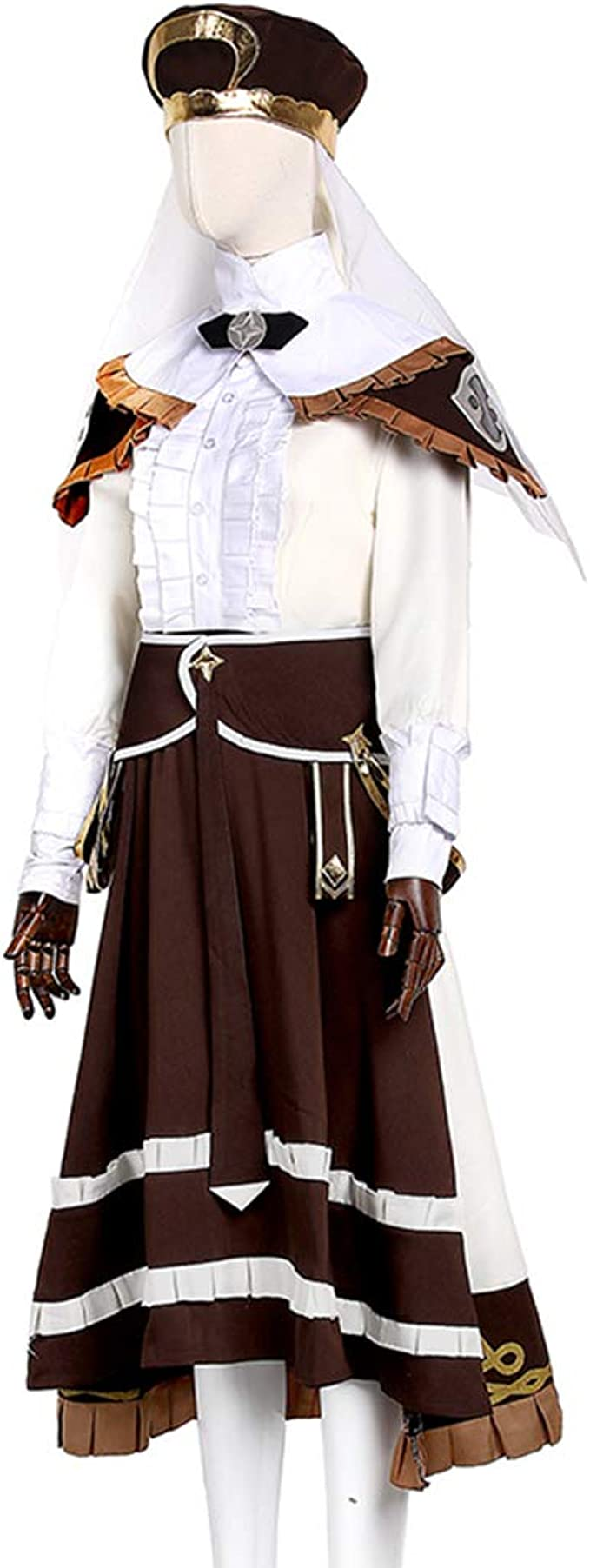 ThreeHouses Mercedes  Halloween Cosplay Costume Outfit Fire Emblem