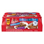Purina ALPO Gravy Wet Dog Food Variety Pack, Beef Lover's – (12) 13.2 oz. Cans