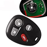 pontiac grand am key fob - YITAMOTOR Keyless Entry Remote Key Fob Replacement Control Transmitter Clicker Alarm for 25695954 25695955
