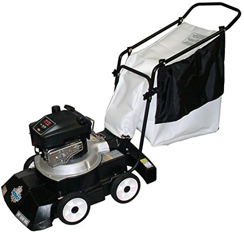 Patriot Products BV-2465B 24-Inch Briggs & Stratton Gas Powered Walk Behind 2-In-1 Leaf Vacuum/Blower