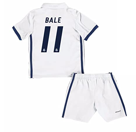 2016 2017 Real Madrid CF 11 Gareth Bale Home Fútbol Soccer Jersey New  Season Kids Camiseta 64882ee8b07f2