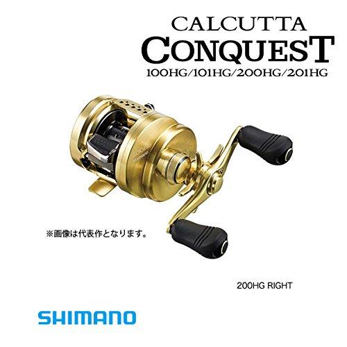 シマノ リール 15 カルカッタ コンクエスト 201HG 左の商品画像