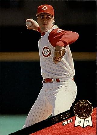 Amazoncom 1993 Leaf Baseball Rookie Card 331 Tim Pugh Mint