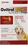 Ovitrol Vet-Kem 3-Pack X-Tend Pest Control Spot on for Dog, 56 to 80-Pound/Large
