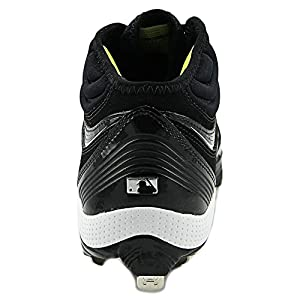 Men's UA Heater IV 5/8-Cut Baseball Cleats Cleat by Under Armour 13 Black