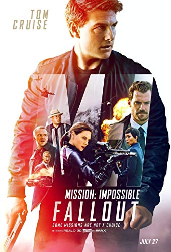 bribase shop Mission Impossible - Fallout 2018 Movie Poster 36 inch x 24 ()