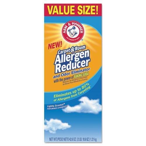 Church & Dwight Carpet & Room Allergen Reducer & Odor Eliminator, 42.6oz Shaker Box CDC 33200-84113