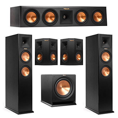 Klipsch 5.1 System with 2 RP-260F Tower Speakers, 1 RP-440C