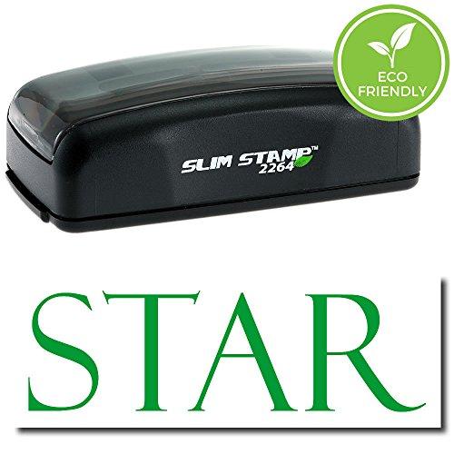 Inked Pre Star (Pre-Inked Star Stamp (Red Ink))