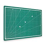 Pretex Cutting Mat 45x 30cm (A3) Green Recycled PVC Base with Self-Closing, Self-Healing Surface | 2Year Money Back Guarantee | Self Healing Cutting Mat Mat