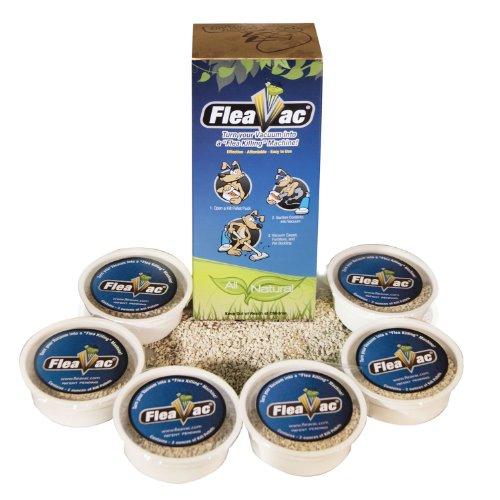 FleaVac 6 Pack Kill Pellets Blue