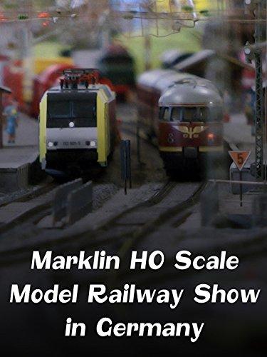 Marklin HO Scale Model Railway Show in Germany