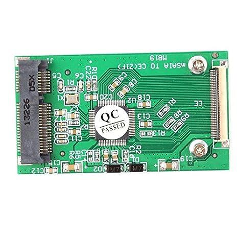 JaneDream - Tarjeta SSD mSATA a ZIF CE DISCO DURO EXTERNO Cable ...