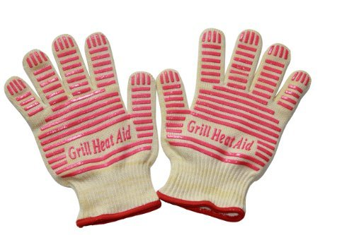 Revolutionary 932F Extreme Heat Resistant EN407 Certified Gloves - Thick...