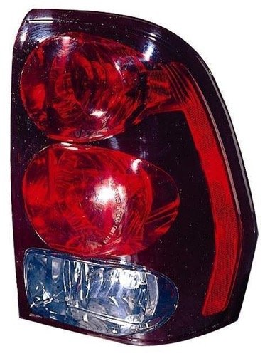 Go-Parts ª OE Replacement for 2002-2006 Chevrolet Trailblazer EXT Rear Tail Light Lamp Assembly/Lens/Cover - Right (Passenger) Side 15131579 GM2801150 for Chevrolet Trailblazer ()