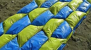 Sand Bags - The Better Sand Bag, Ten Pack, Wide Mouth Easy Fill, Uses Less Sand, Interlocks for Strength