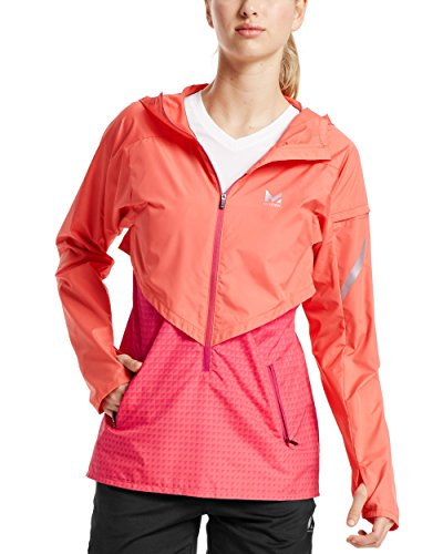 Mission Women's VaporActive Barometer Running Jacket, Emberglow/Beetroot Purple Ombre, X-Small by Mission (Image #6)