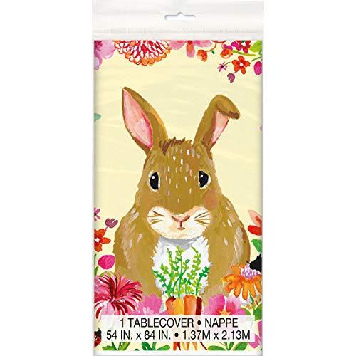 TAOtTAO Wooden Easter Bunny Listings Commemorating Jesus Resurrection Rabbit Pattern Wooden Hanging Plates
