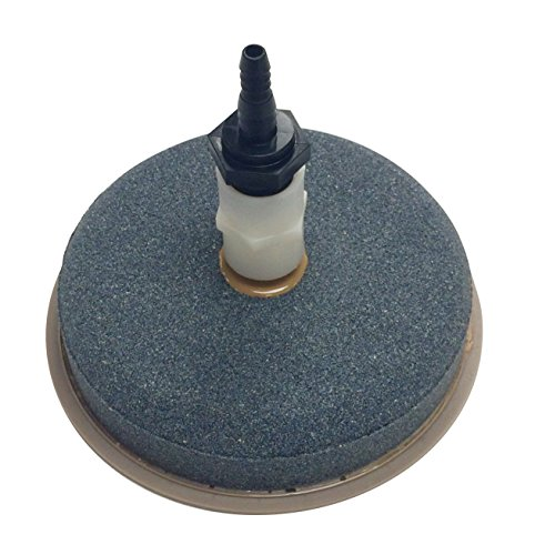 Outdoor Water Solutions ARS0102 7-Inch Airstone Diffuser Kit Diffuser Airstone with Built In Backflow Valve