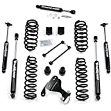 """Teraflex Jeep Wrangler JK 4 Dr Unlimited 2.5"""" Suspension Lift With FREE Steering Stabilizer - Includes Teraflex Lift # 1251000 & Stabilizer # 1513001"""