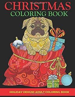 Amazon Com Christmas Designs Adult Coloring Book 31 Stress