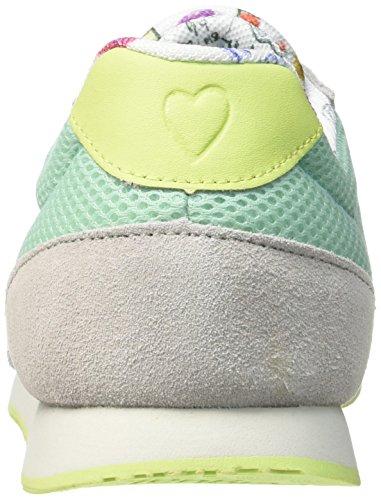 Desigual Primavera, Sneaker Donna, Verde Acqua, EU 41