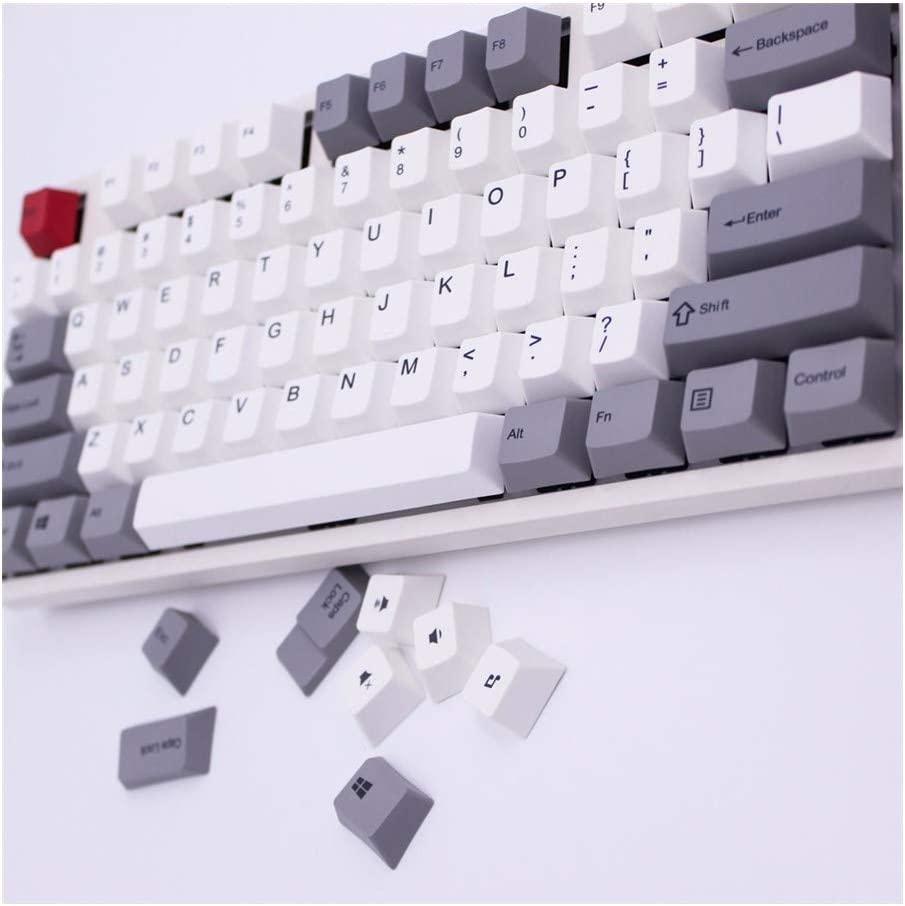 HLOIPYUR keycap 108//122 Keys dye Sublimated Switch Mechanical Keyboard Non-Slip Good-Looking