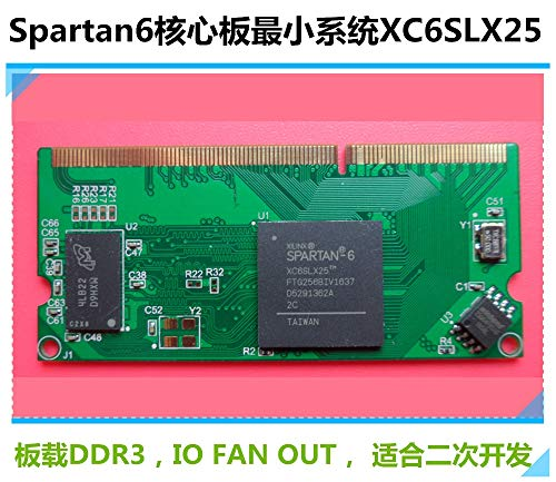 Lysee The core board of XC6SLX25 includes DDR3 Golden Finger (GF) without bottom board ()