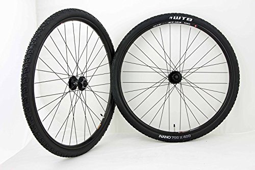 700c 29inch Disc Brake Monster Cross WTB STp i23 Wheel Set Shimano Hubs With WTB Nano Tires and Tubes! by WTB