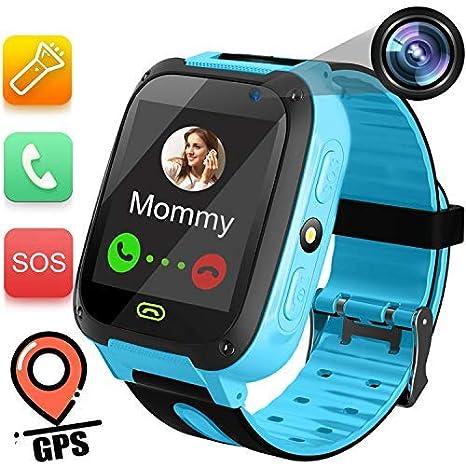 TURNMEON - Reloj inteligente para niños - 1,44 pulgadas de ...